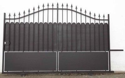 Portail Fer Aulnay C 4m 1 70 2 0 M Ouv G Bricoman