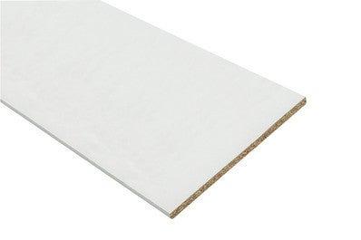 panneau predecoupe melamine blanc l 120 x p 60 x ep 1 6 cm
