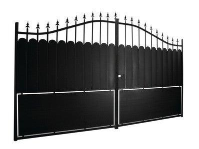 Portail Fer Aulnay 3 50m 1 70 2 05 M Bricoman
