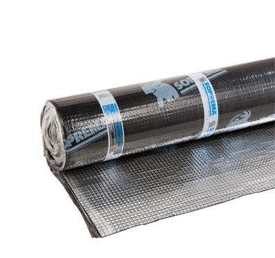 Rouleau D Etancheite A Base De Bitume Soudable Aluminum L 8 M X L 1 M Mammouth Chape Soprema Bricoman