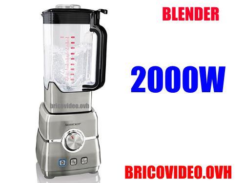 silvercrest power blender 2000w lidl