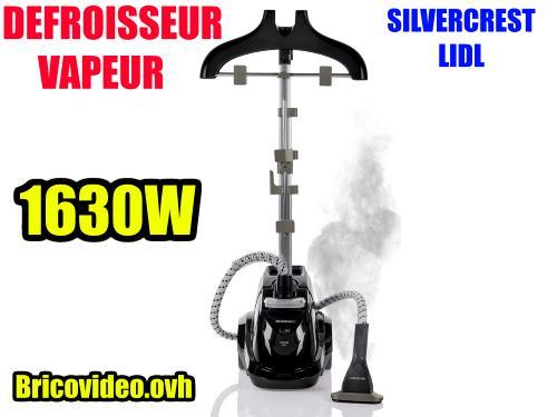 defroisseur vapeur vertical lidl