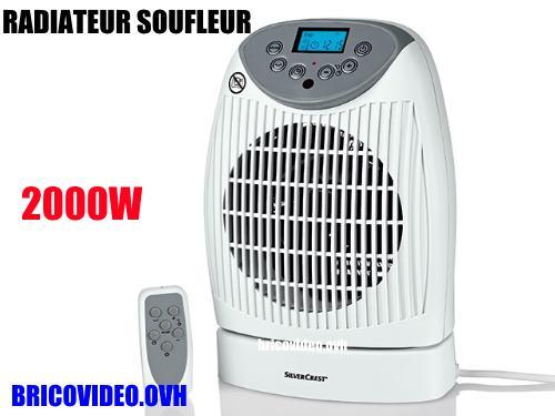 radiateur soufflant lidl silvercrest