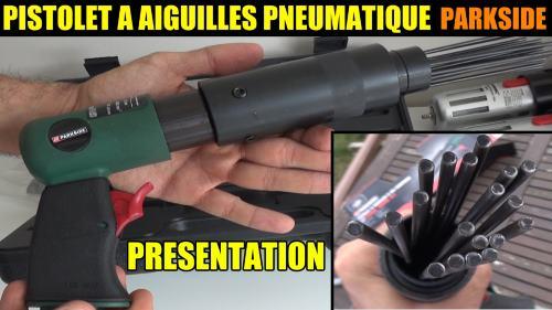 pistolet a aiguilles pneumatique lidl
