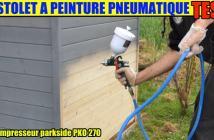 pistolet à peinture pneumatique parkside lidl pdfp 500 b2