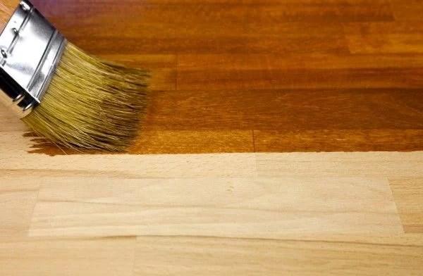 Consejos para teñir la madera sin tratar   bricoydeco.com