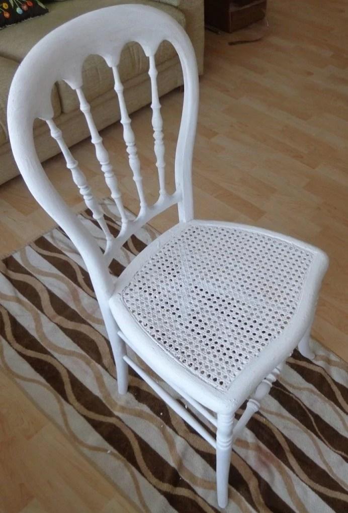 silla con imprimación