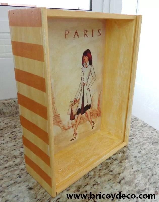 caja madera sin barniz