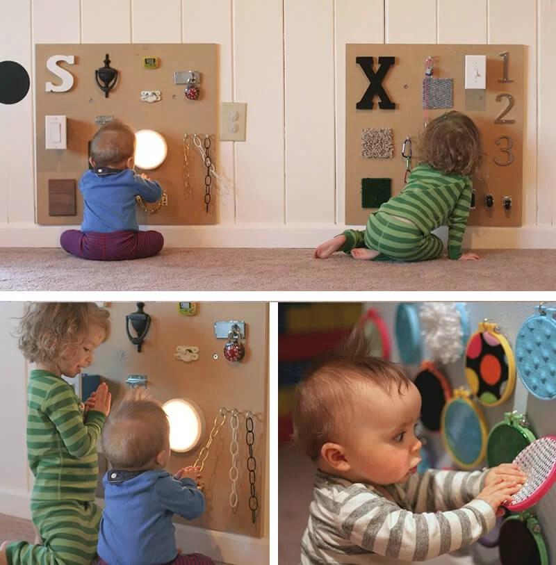 juguetes DIY Montessori para hacer tú mismo