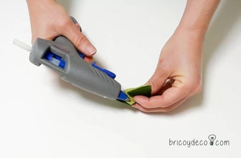 cómo hacer plantas suculentas de fieltro