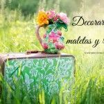 decorar con maletas y reciclar