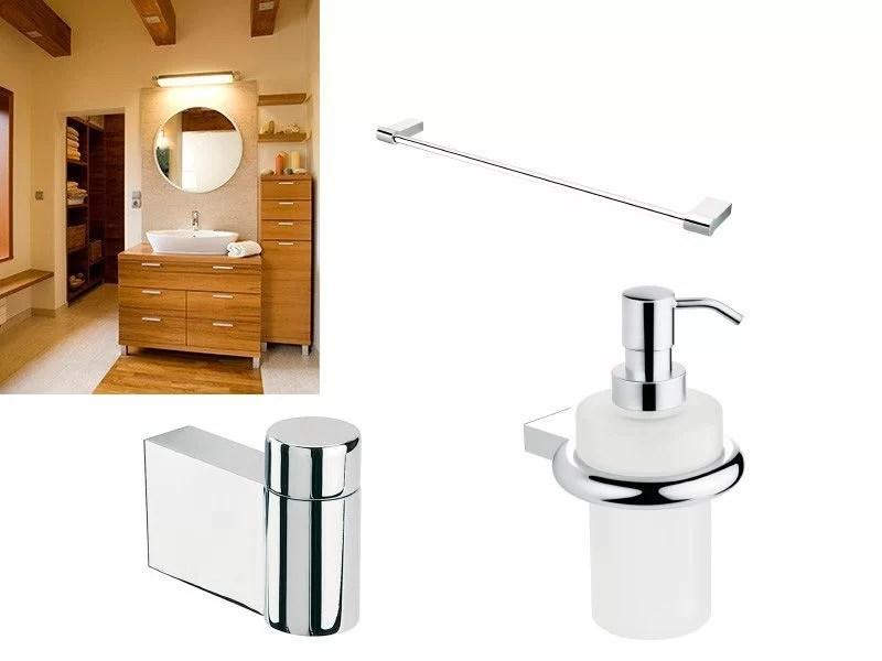 elegir accesorios de baño atemporales