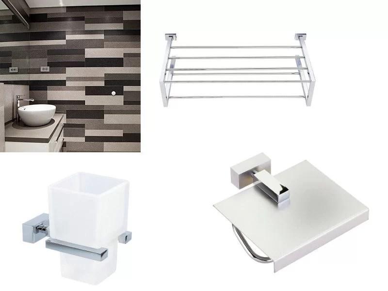 cómo elegir accesorios de baño estilo moderno