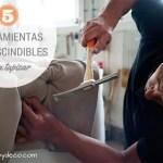 herramientas imprescindibles para tapizar un sofá