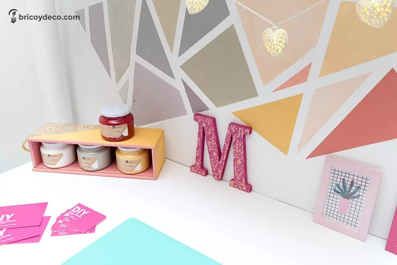 reciclar cajas con pintura