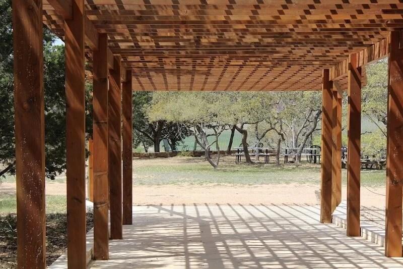 pérgolas para jardín de madera