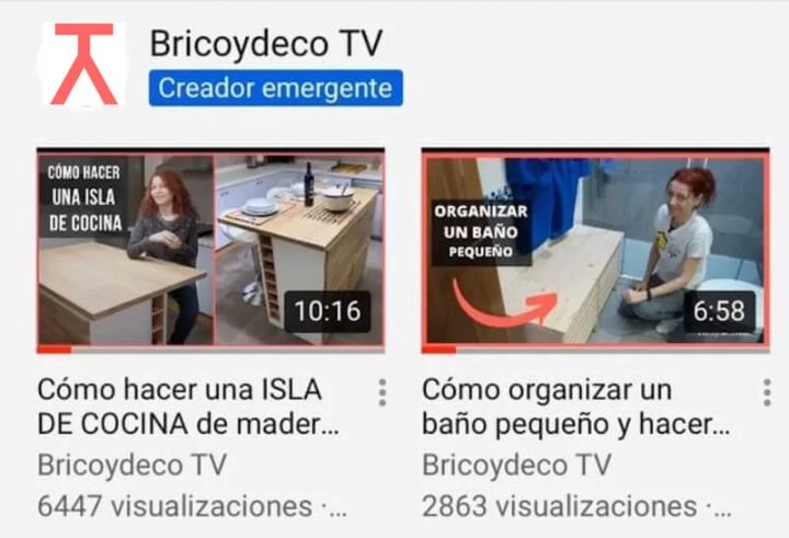 Bricoydeco TV canal de bricolaje destacado en YouTube