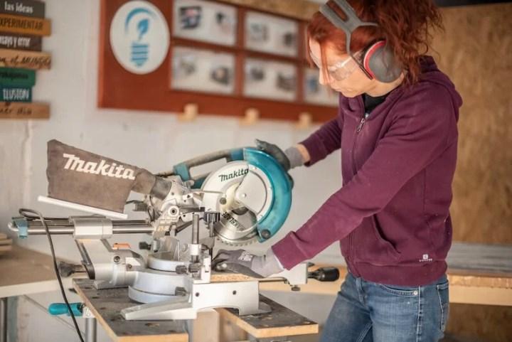 gafas de seguridad para trabajos de carpintería