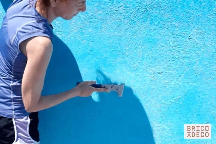 preparar la piscina antes de pintar