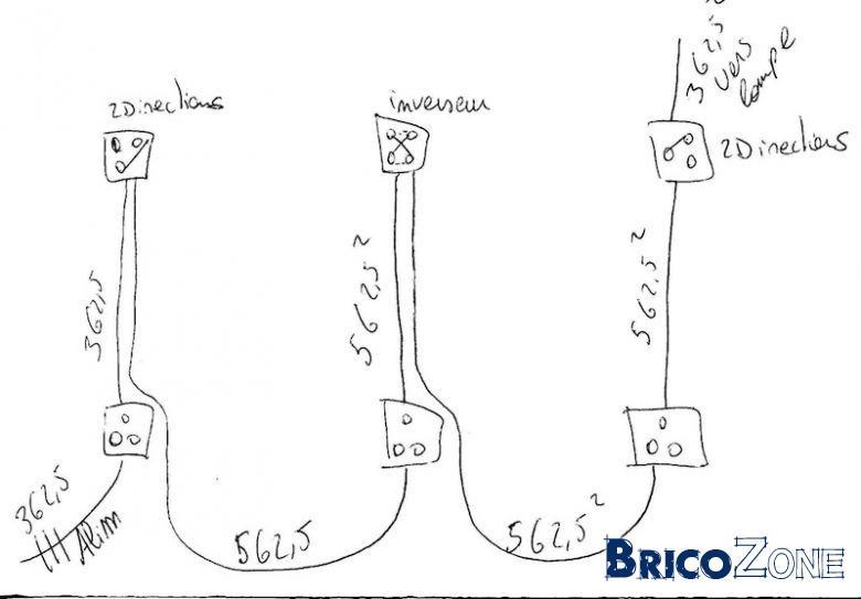 Cabler Interrupteur Triple En Circuit Mixte