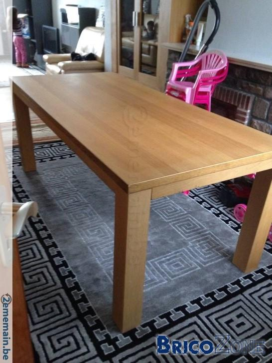 placage table abime reparation