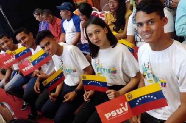 Arranca en Caracas el I Congreso Internacional de Jóvenes y Estudiantes