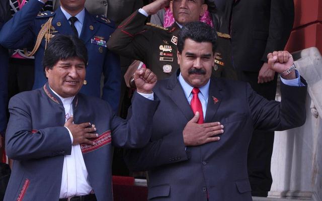 El Presidente Nicolás Maduro denuncia el intento de golpe de estado en marcha contra Bolivia