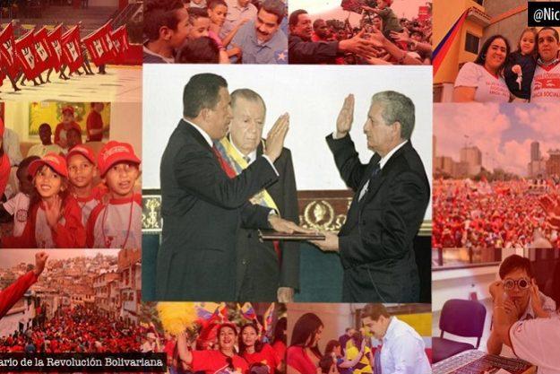 Venezuela celebra 21 años de Revolución Bolivariana
