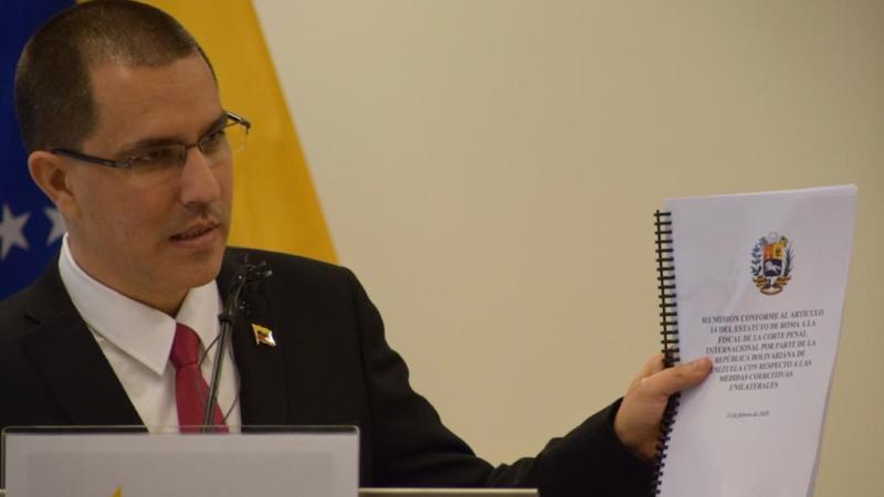 Venezuela denuncia al gobierno de EEUU ante la Corte Penal Internacional