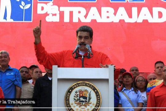 El Presidente Nicolás Maduro conmemora el Día Internacional de la Clase Trabajadora