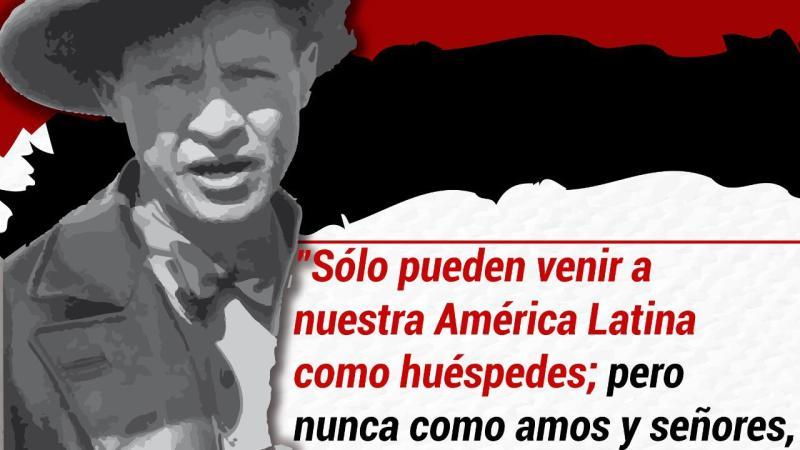 ¡Sandino Vive, la Lucha Sigue!
