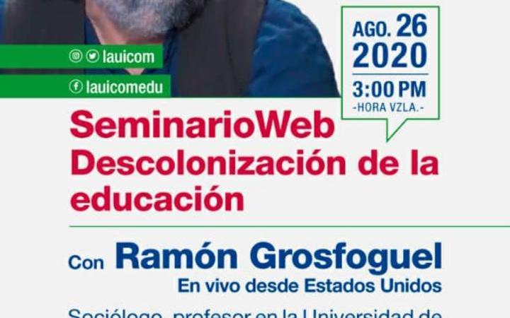 Debatido en el foro internacional de Lauicom la deconstrucción epistemológica de la educación