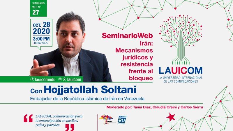 """Hojjatollah Soltani: """"Cada vez que EE.UU. aplica una nueva sanción contra Irán la obliga a desarrollarse"""""""