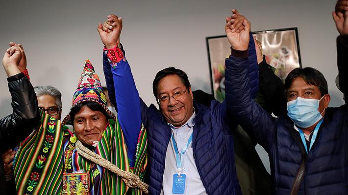 Venezuela felicita al MAS y Luis Arce por su contundente triunfo electoral en Bolivia