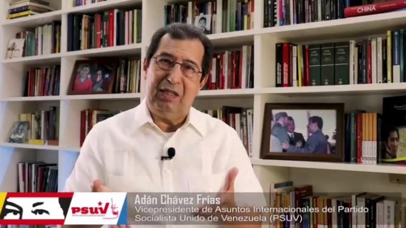 Carta de Adán Chávez a los Pueblos del Mundo