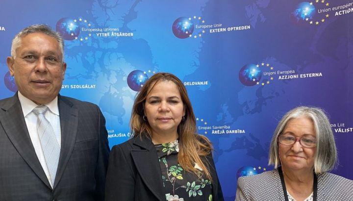 Si conclude con profitto il viaggio a Bruxelles della delegazione venezuelana. Destra furiosa