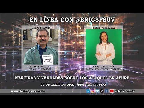 [VÍDEO] En Línea @BRICSPSUV: Esto es lo que sucede realmente en el estado Apure