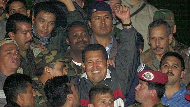 Golpe de Abril en Venezuela. Guerra mediática desde Europa
