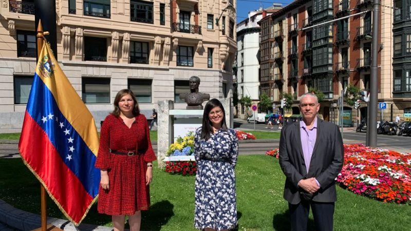 Conmemorado en Bilbao el 5 de Julio, Día de la Independencia de Venezuela