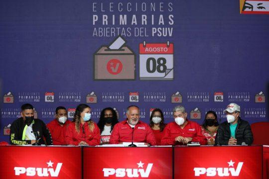 Resultados oficiales a las Gobernaciones y Alcaldías del PSUV
