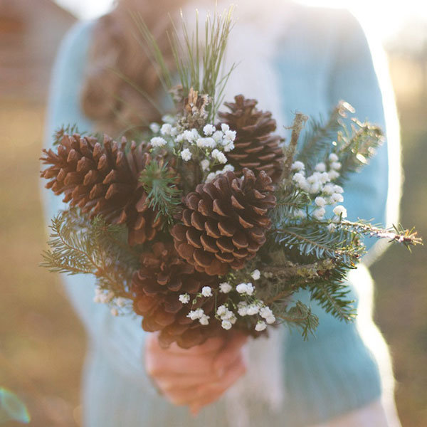 non floral wedding bouquet Archives - The Newport Bride