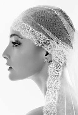 Bride Fashion Model (Black & White) 01