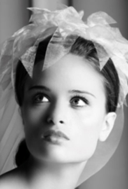 Bride Fashion Model (Black & White) 04