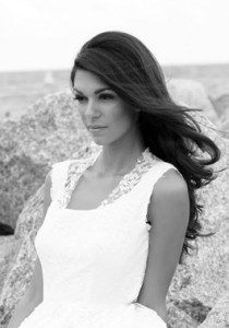 Bride Fashion Model (Black & White) 15