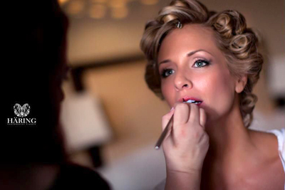 Real Brides Getting Ready - Makeup by Aradia - Bride Rebecca
