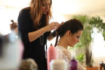Real Brides Getting Ready - Bride Heather - Makeup by Aradia - Hair by Kei