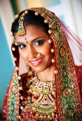 Bride Vidya - Makeup & Hair by Bridal Makeovers by Aradia