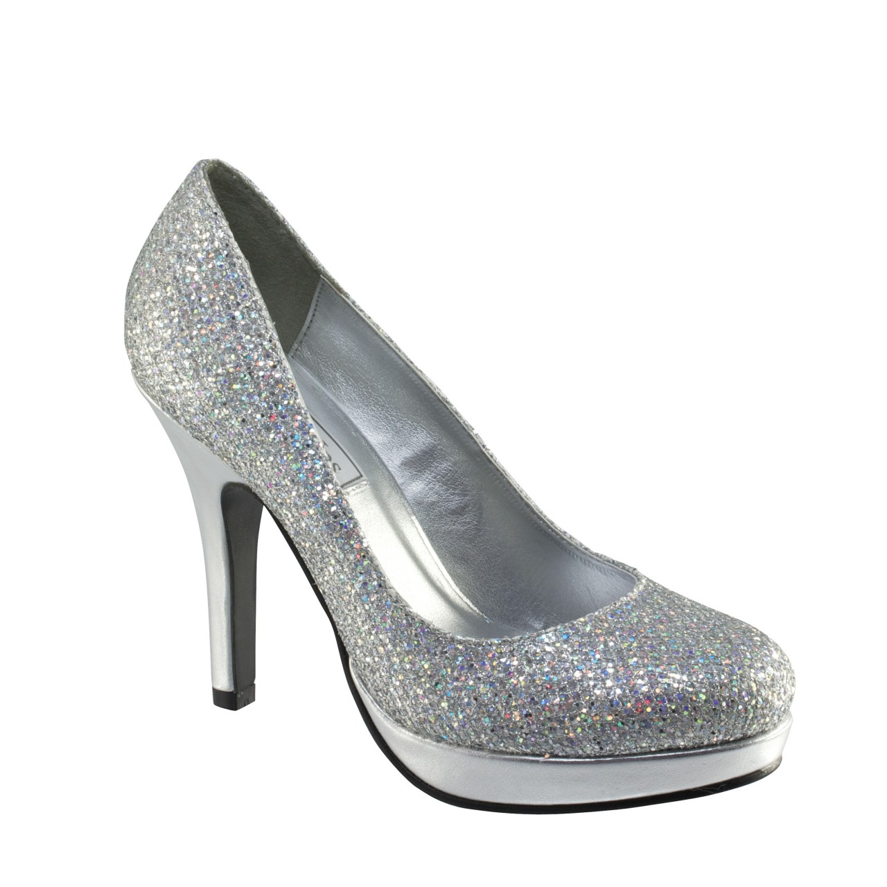 Silver Bridesmaid Shoes