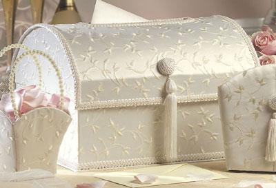 Elegant wedding money box
