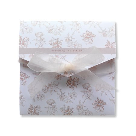 Bella Cream Wedding Invitation